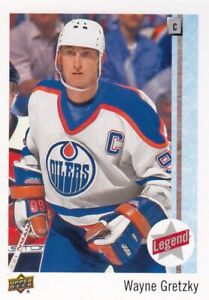WAYNE GRETZKY NO:99 LEGENDS in UPPER DECK COLLECTOR CARE 2017-18