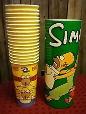SIMPSONS- Promotional Ephemera, Lot of 23 Cups and Posters