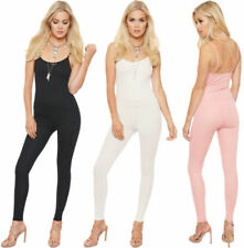 Jumpsuit Synthetic Sleeveless Jumpsuits & Playsuits for Women