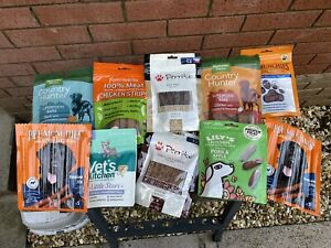 Dog Treat 15 Pack Variety Bundle Different Brands And Flavours