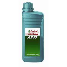 CASTROL CAR VAN ENGINE MOTOR OIL -Racing A747 - 2 Stroke - Semi Synthetic - 1 Li