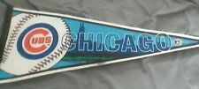 "CHICAGO CUBS MLB TAG EXPRESS PENNANT FLAG  ... 2000 ....30"" Felt"