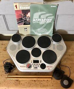 Yamaha DD-55 Digital Percussion Electronic Drum Kit Machine 7 Pad Set & 2 Pedals