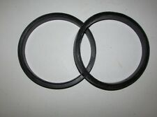 """NEW 5 PACK - 5"""" DIAMETER RUBBER GASKET O-RING SEAL U CHANNEL ROUND"""