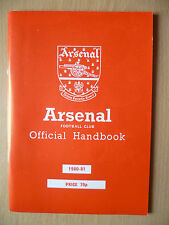 B Football Handbooks & Annuals