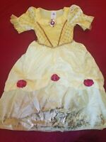 Disney Princess Belle Beauty And The Beast Girls Costume Play Dress. Size 5/6