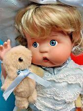 "Treasured Heirloom KAI Gwen Ross LE Tumble Ina w/ Rabbit 16"" FULL Porcelain Doll"