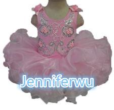 High glitz national Infant/toddler/baby/children/kids Girl's pageantDressG070-6
