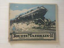 Catalogue Marklin ORSAT Freres 1925 FR Francais