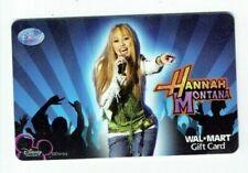 Walmart Gift Card - Hannah Montana - Miley Cyrus - Older - No Value - I Combine