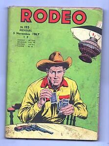 RODEO n°195 - LUG novembre 1967 - bel état