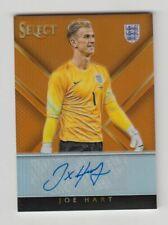 2015-16 Panini Select Soccer Auto card : Joe Hart #22/30
