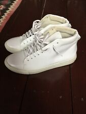 Sandro Paris High Top Full Leather Sneakers - Size 42 EU