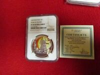 2008 Niue .925 28g Silver Year of the Rat Coin NGC PF68 TOP POPULATION BEST GRAD