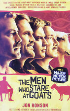 The Men Who Stare at Goats by Jon Ronson (2009, Paperback)