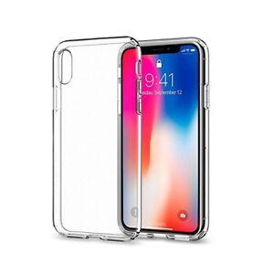 iPhone X Handyhülle Handy Hülle Case Cover Silikon Transparent Slim Dünn TPU