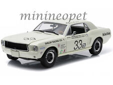 GREENLIGHT 12935 1967 FORD SHELBY MUSTANG #33 1/18 JERRY TITUS SHELBY TRIBUT