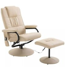 Electric Massage Chair Sofa Recliner Foot Stool Point Massager Relaxing Office