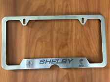 Shelby License plate frame
