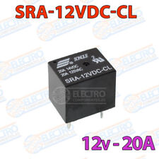 MINI Rele 12v 20A SRA-12VDC-CL PCB soldar superficie power relay relé