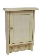 Wooden Key Cabinet Cupboard Rack Holder Wall Plain Decoupage Craft BIG /K04