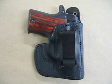 Colt Mustang Iwb Molded Leather Inside Waistband Conceal Carry Holster Black Rh