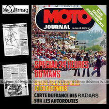 MOTO JOURNAL N°360 CHARLES COUTARD PEUGEOT SX8 T 24H DU MANS BPS SWM 320 TL 1978