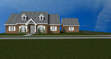 Bungalow 11 - 2008 sqft  Brick  house plans