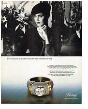 PUBLICITE ADVERTISING  1983   POIRAY  bijoux joaillerie de luxe