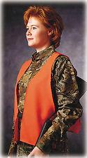 Hunters Specialties Super/Quiet Safety Vest One Size Blaze Orange