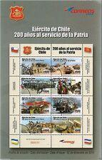 Chile 2010 Brochure 200 años al servico de la Patria Ejercito