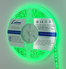 LUCE A LED STRISCIA 3528 5 METRI Verde IP 65 (059) 120 LED/1m