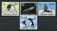 Falkland Islands 2018 MNH Macaroni Penguins Predators & Prey 4v Set Birds Stamps