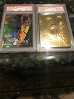 1996-97 Flair Showcase Row 2 #31 Kobe Bryant RC PSA 8 & PSA 8-2 Rare Variations!
