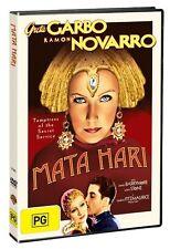 Mata Hari DVD 1931 Region 4 Greta Garbo Lionel Barrymore WWI War Spy Dancer