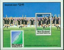 New Zealand. 1991. Rugby World Cup. Min Sheet. MUH.