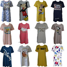 Ladies DISNEY Nightshirt Nightie Women's Chemise Pyjamas Nightdress 6-24 Primark