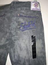 Women Ecko jeans. New Ecko red size US 11/12 (UK 14)  Grey Denim washed look.