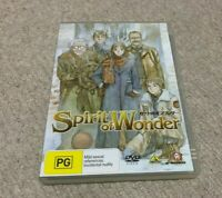Spirit of Wonder Anime DVD Region 4 AU Release Mint Disc