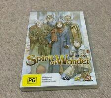 Spirit of Wonder Anime DVD Region 4 AU Release Mint Disc