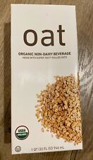 Oat Organic Non-Dairy Beverage Made with Super Tasty Rolled Oats 32 FL