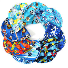 Elastic Fabric Protect Ears Long Hair Swim Pool Hat Swimming Cap For children BB