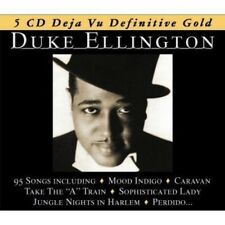 DUKE ELLINGTON - ANTHOLOGY - CARAVAN; MOOD INDIGO - BOX-SET 5 CD NEW+
