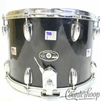 """*Slingerland 14x10""""Black Snare Drum 70s 3Ply Mahogany/Maple Sound King Marching"""