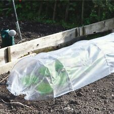 Transparent PE Plastic Tunnel Greenhouse Grow House Frame Poly Tunnel Vegetables
