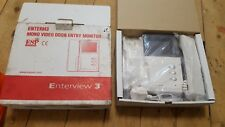 Enterview 3 Video Door Entry Security Phone System CCTV HOME OFFICE FLAT Handset