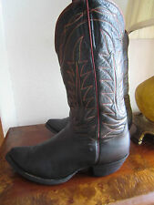 Super Old CLOTH PULLS TONY LAMA Cowboy Boots !!  sz Men 8D Women 9.5