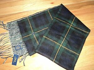 nwt Polo Ralph Lauren Made in Italy Scarf