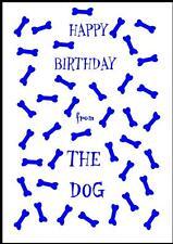 Novità Buon Compleanno Biglietto D'Auguri dal cane - 4b-Own Design