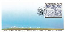 New Zealand 1994 Definitive $20 Mt. Cook FDC